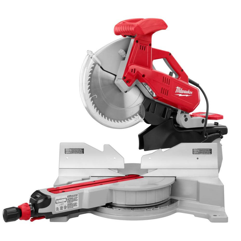 Milwaukee 6955 20 review 12 sliding dual bevel sliding miter saw milwaukee 6955 20 miter saw review is this the best saw for you greentooth Image collections
